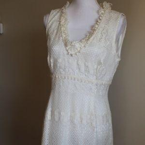 Womens Nine West Size 12 Lace Dress